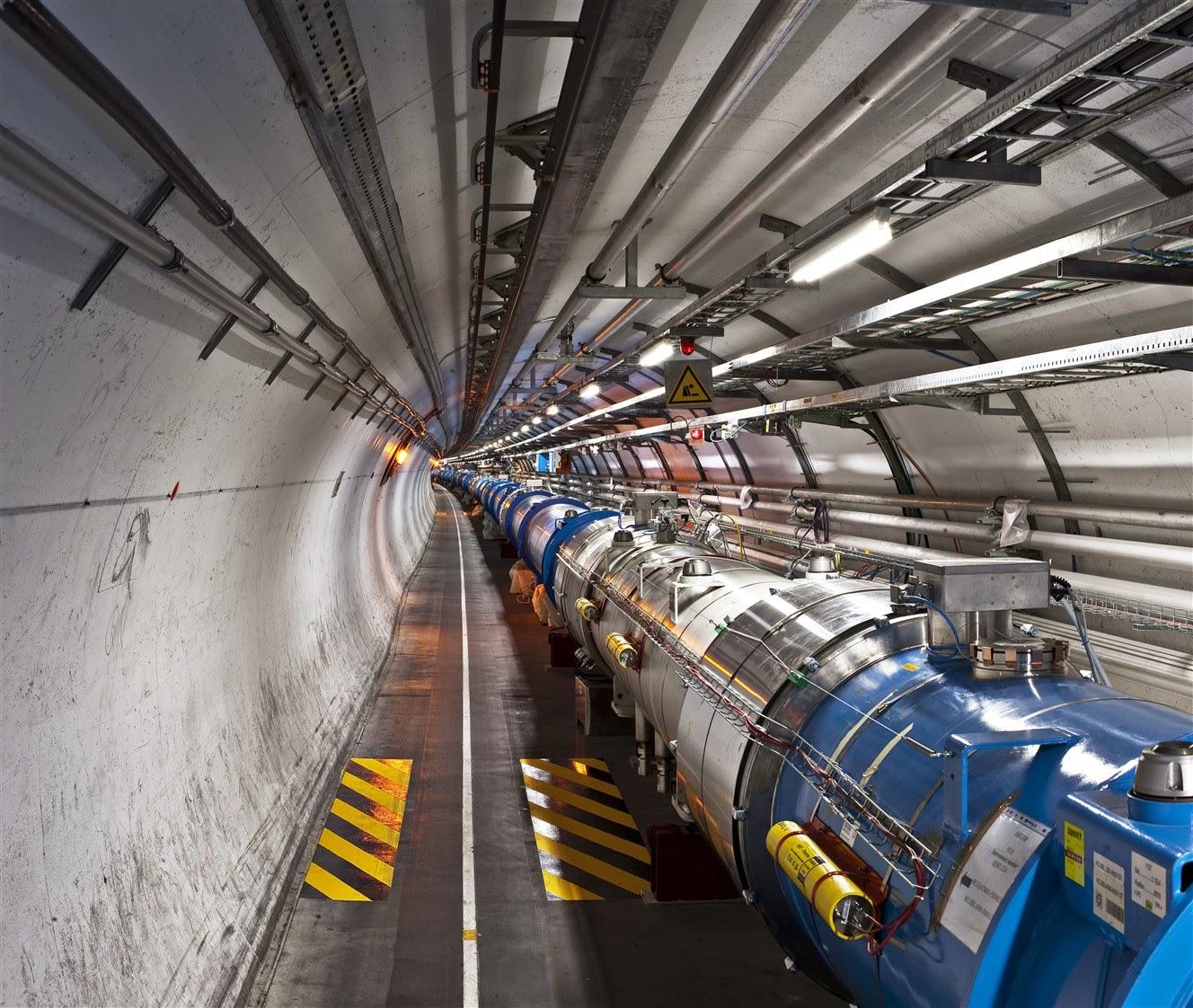 Física. El Gran Colisionador de Hadrones.
