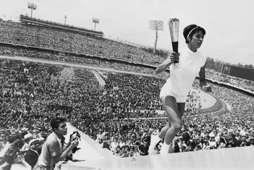 Hipoxia. Enriqueta-Juegos-Olimpicos-Mexico-1968.