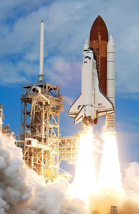 Cohete espacial, leyes de Newton