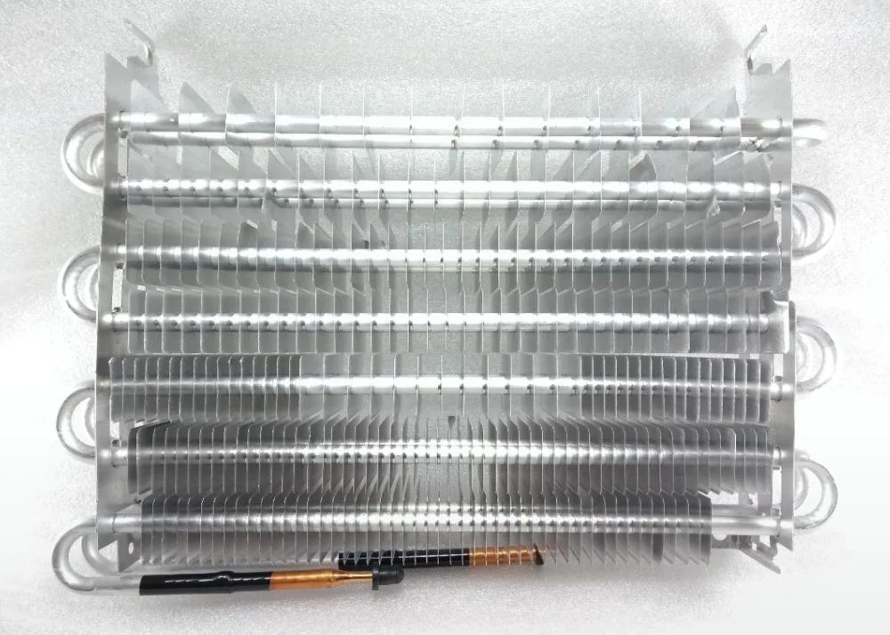 Evaporador en el funcionamiento de un refrigerador