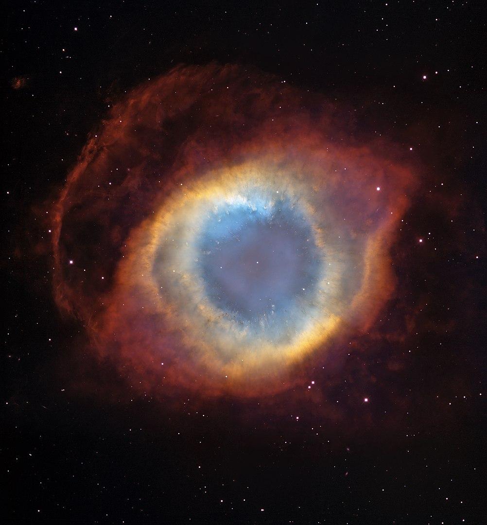 La gran Nebulosa-Helix-Hubble