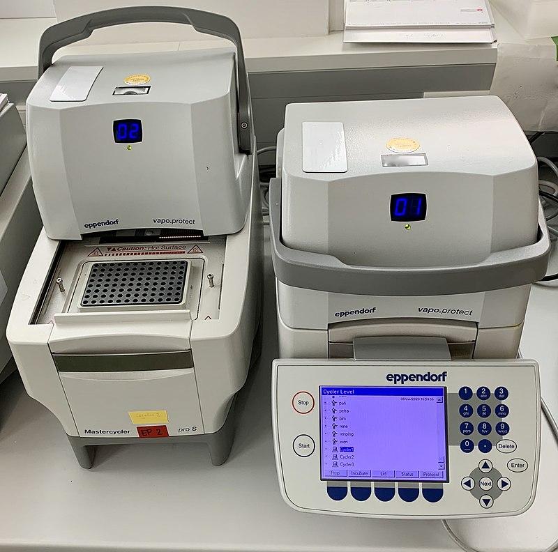 Termociclador para PCR.