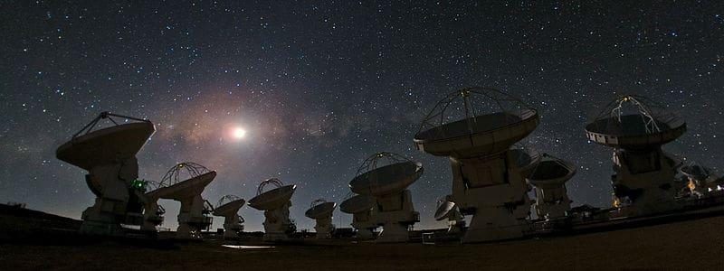 atacama chile telescopio