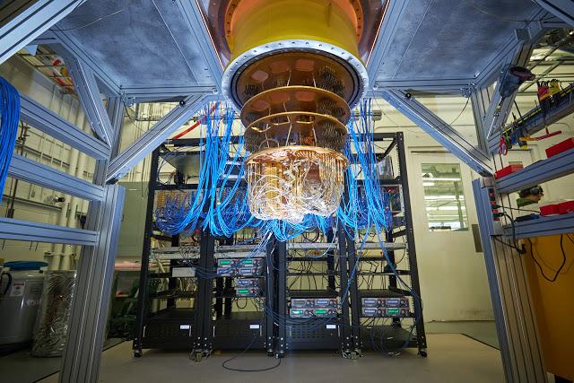 Simulación cuántica de la reacción química por procesador Sycamore de Google