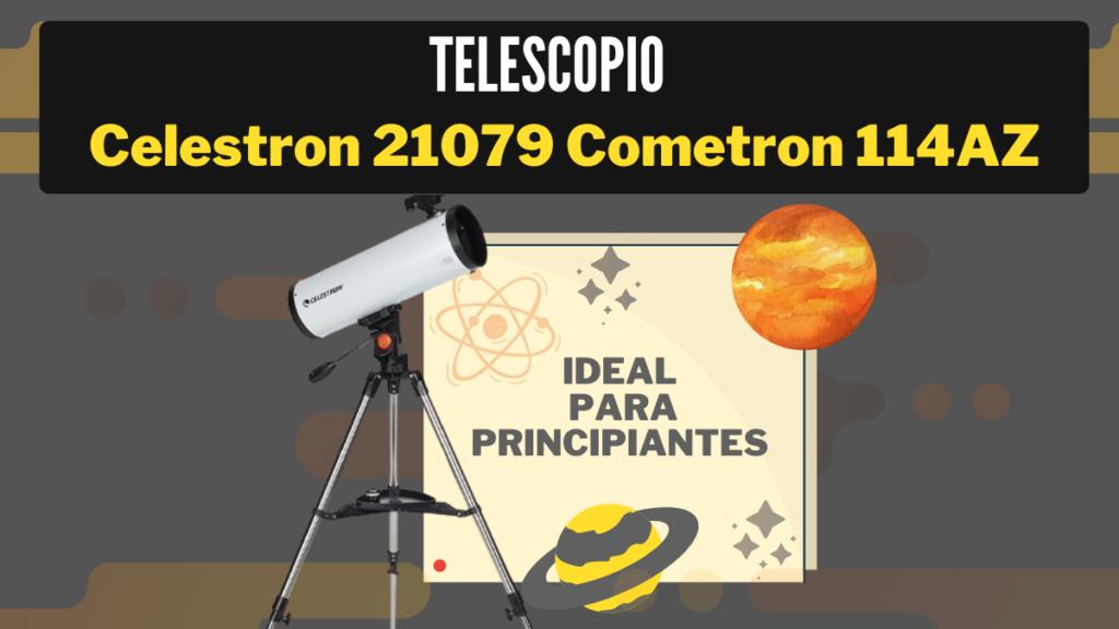Telescopio Celestron 21079 Cometron 114az