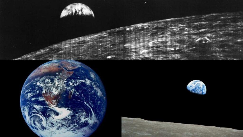Las 5 primeras fotos de nuestro planeta Tierra tomadas desde el espacio