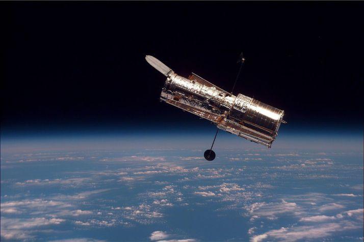 Fronteras de la física. Telescopio Hubble